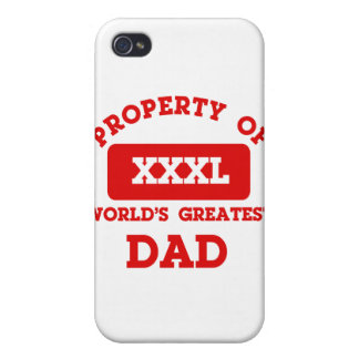 Property of world s greatest Dad iPhone 4/4S Cover