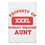 Property of world's greatest Aunt iPad Mini Cases