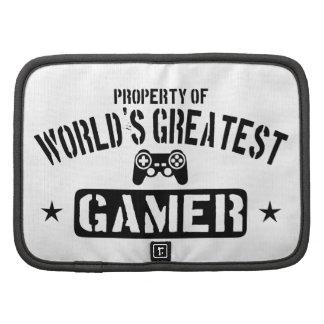 Property Of World's Greatest Gamer Planner