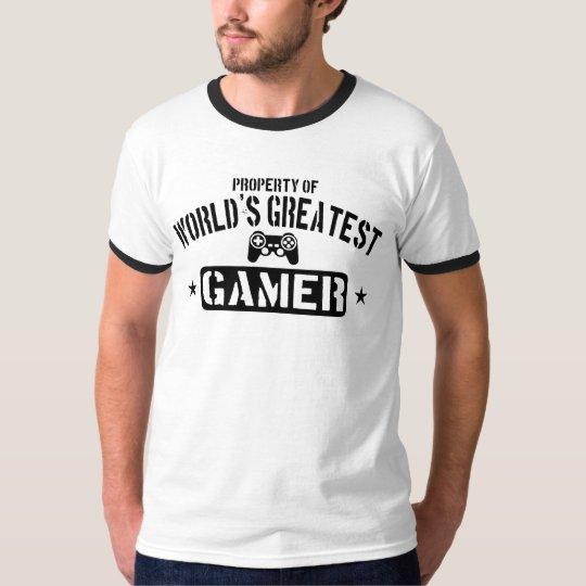 Property Of World's Greatest Gamer T-Shirt
