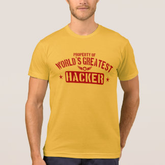 Property Of World's Greatest Hacker T-Shirt