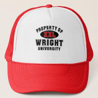 Property of Wright University Trucker Hat
