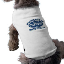 Property of xxl Chinese Crested University Tee