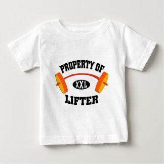 Property of XXL Lifter Infant T Shirt