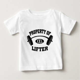 Property of XXL Lifter Infant / Toddler T Shirt
