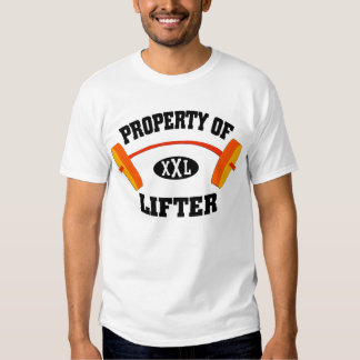 Property of XXL Lifter Men's T Shirt