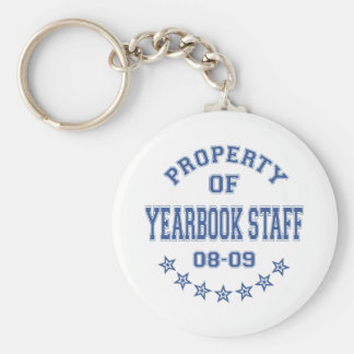 Property OF Yearbook Staff Keychain