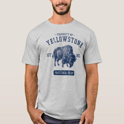 Property of Yellowstone National Park T_Shirt