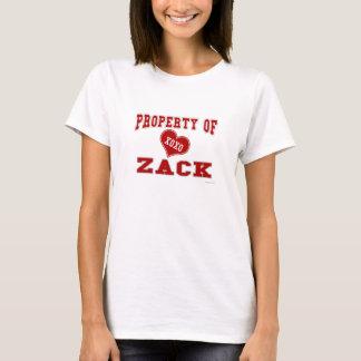 Property of Zack T-Shirt