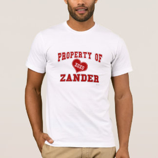 Property of Zander T-Shirt