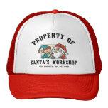 Property Santa's Workshop Gift Trucker Hats