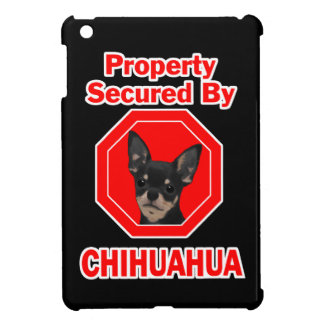 Property Secured by Chihuahua iPad Mini Cases