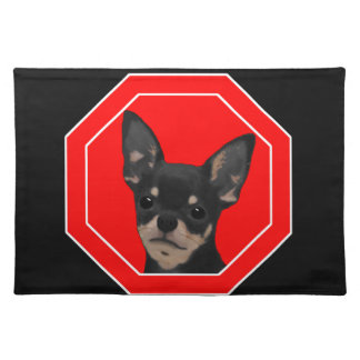 Property Secured by Chihuahua Placemat