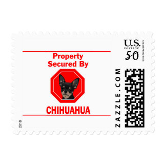 Property Secured by Chihuahua Postage
