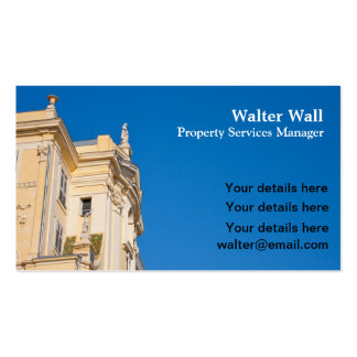 Property Services business card