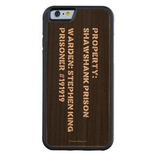 Property: Shawshank Prison Carved Cherry iPhone 6 Bumper Case