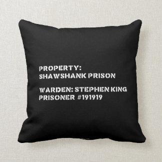 Property: Shawshank Prison Throw Pillow