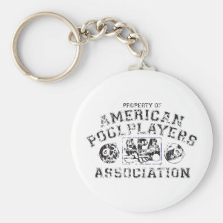 Propery of APA - Distressed Keychain