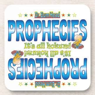 Prophecies Dr. B Head Drink Coasters