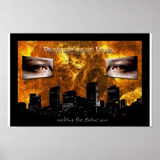 Prophecies of War poster 11 x 17