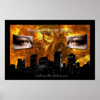 Prophecies of War poster 24 x 36