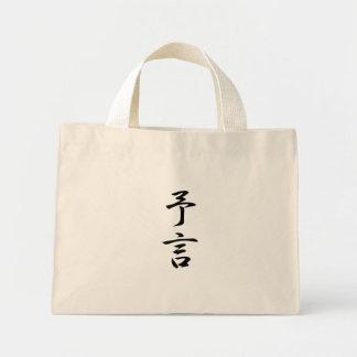 Prophecy Kanji Tote Bag