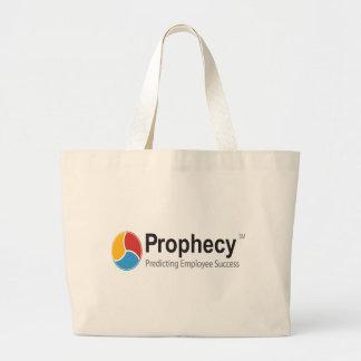 Prophecy logo canvas bags