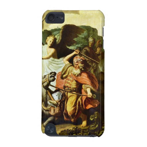 Prophet Balaam and the donkey by Rembrandt iPod Touch 5G Cases