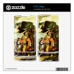 Prophet Balaam and the donkey by Rembrandt Decal For HTC Pure