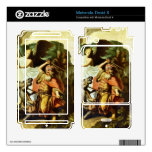 Prophet Balaam and the donkey by Rembrandt Motorola Droid X Skin