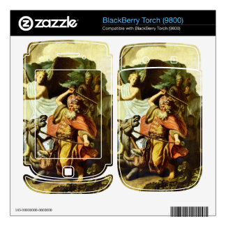 Prophet Balaam and the donkey by Rembrandt BlackBerry Torch Skins
