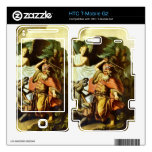 Prophet Balaam and the donkey by Rembrandt Skins For HTC T-Mobile G2