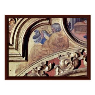 Prophet Baruch By Gentile Da Fabriano Postcard