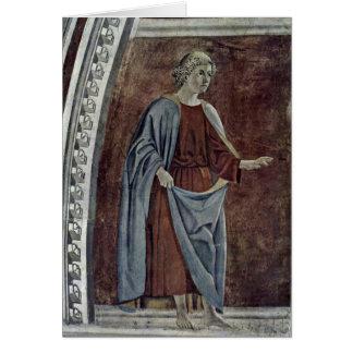 Prophet. By Piero Della Francesca Card