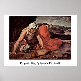 Prophet Elias, By Daniele Ricciarelli Poster