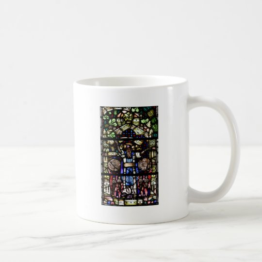 Prophet Isaiah Stained Glass Art Coffee Mug