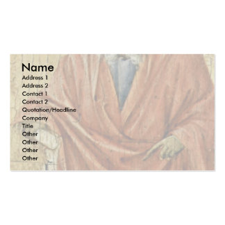 Prophet Jeremiah By Duccio Di Buoninsegna Business Cards