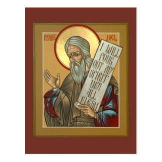 Prophet Joel Prayer Card