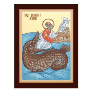 Prophet Jonah Prayer Card