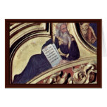 Prophet Moses By Gentile Da Fabriano Cards