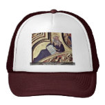 Prophet Moses By Gentile Da Fabriano Trucker Hat