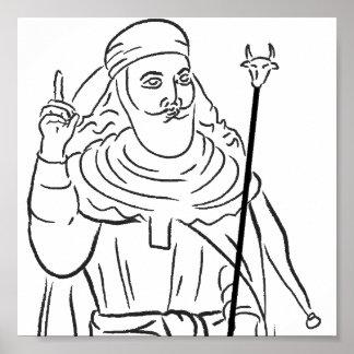 Prophet Zarathustra Poster