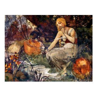 Prophetess by Alfons Mucha 1896 Postcard