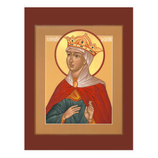 Prophetess Deborah Prayer Card Postcard