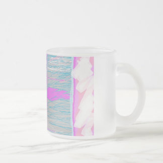 Prophetic Art by Prophetess Seer Melissa White Frosted Glass Coffee Mug
