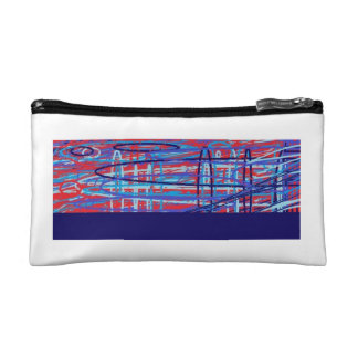 Prophetic art collection by Seer Melissa White Cosmetic Bag