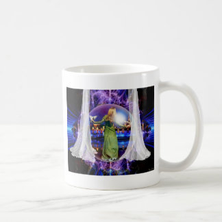 prophetic art created by Dolores DeVelde Classic White Coffee Mug