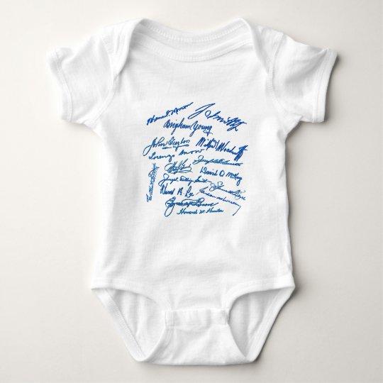 Prophets Autographs Baby Bodysuit