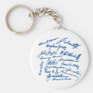 Prophets Autographs Keychains