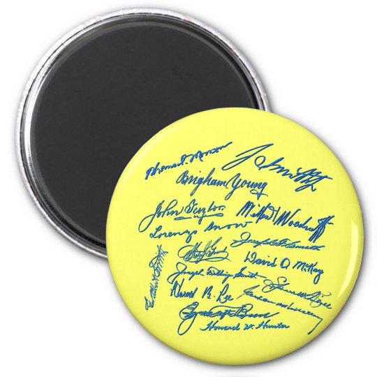 Prophets Autographs Magnet